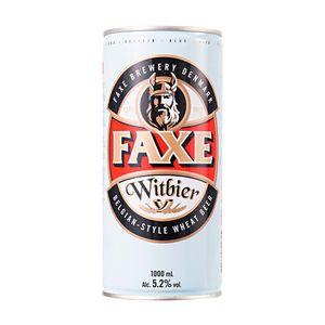 Cerveja-dinamarquesa-Faxe-Witbier-Lata-1L