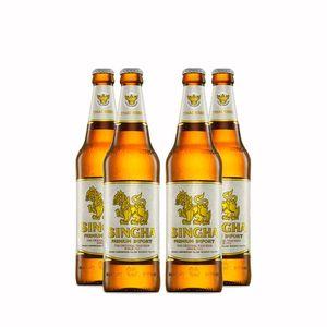 Pack-4-cervejas-tailandesa-Singha-500ml