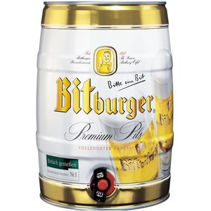 Barrilete-cerveja-alema-Bitburger-5L
