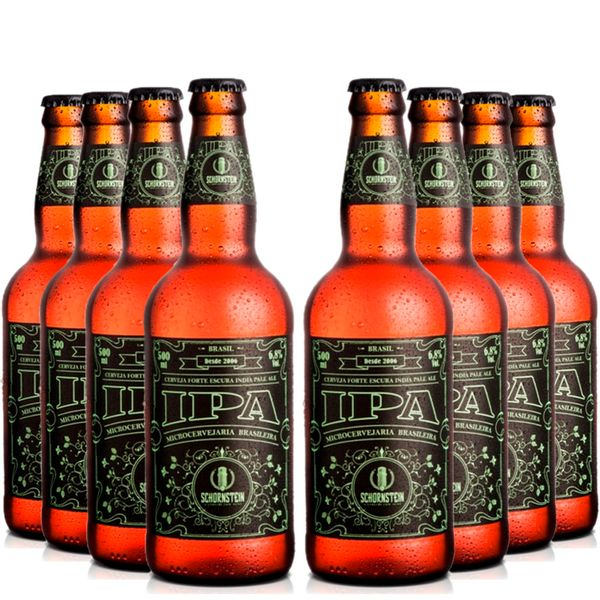 Pack-8-cervejas-artesanal-Schornstein-IPA-500ml