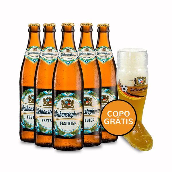 Kit-5-Cervejas-Weihenstephaner-Festbier-500ml--Cop
