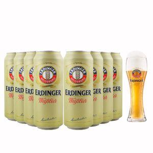 Pack-8-Cervejas-Erdinger-WeissBier-lata--copo-grat