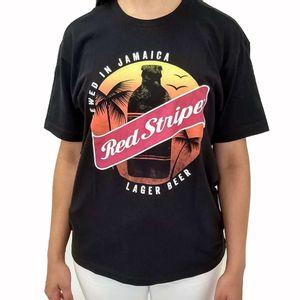 Camiseta-cerveja-jamaicana-Red-Stripe-preta-M-1