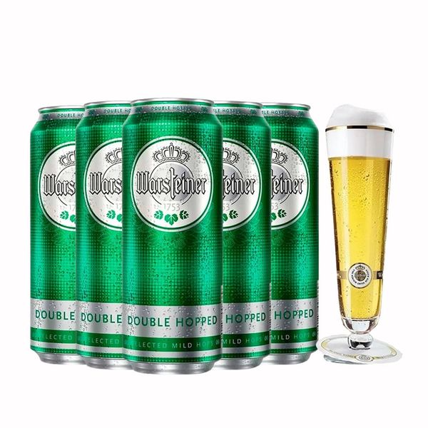Kit-5-Warsteiner-Double-Hopped-lata-500ml---Taca-G