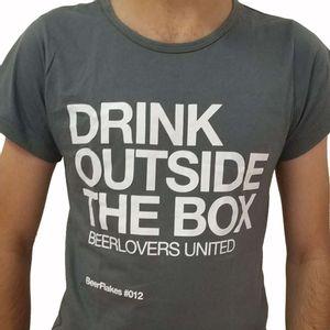 Camiseta-Drink-Outside-the-Box-Cinza-Feminina-GG-1