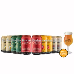 Kit-Degustacao-10-Bierland-Lata-350ml--Taca-Gratis