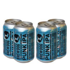 Pack-4-cervejas-escocesa-BrewDog-Punk-IPA-Lata-330