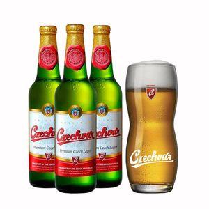 Pack-3-Cervejas-Tcheca-Czechvar-500ml--Copo-Gratis
