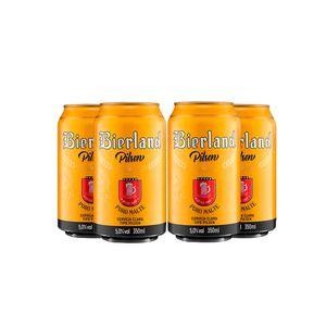 Pack-4-Cervejas-Bierland-Pilsen-lata-350ml-1