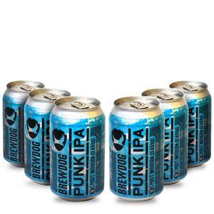 Pack-6-cervejas-escocesa-BrewDog-Punk-IPA-Lata-330