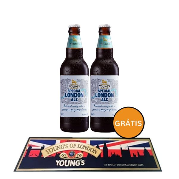 Pack-2-Young-s-London-Ale--Tapete-Bar-Mat-1
