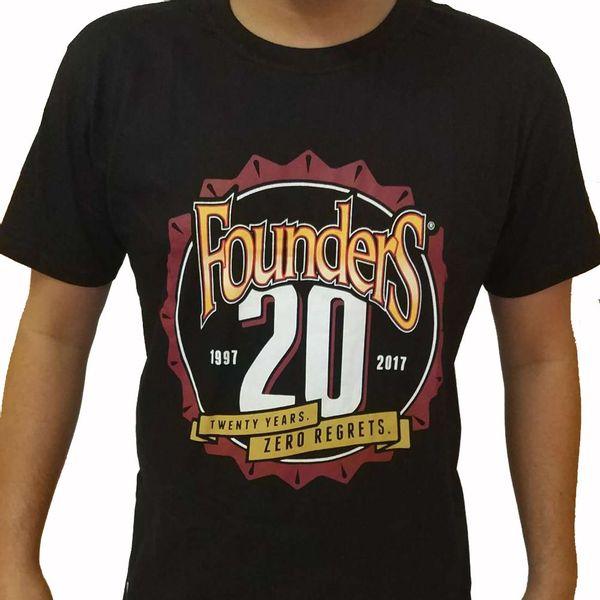 Camiseta-Founders-20-Years-Preta-Feminina-2P-1
