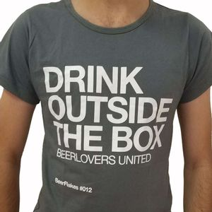 Camiseta-Drink-Outside-the-Box-Cinza-Feminina-GG-1