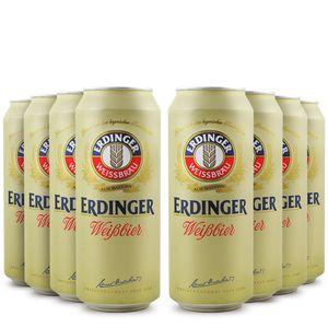 Pack-8-cervejas-alema-Erdinger-Weissbier-Lata-500m