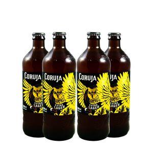 Pack-4-Cervejas-Artesanal-Coruja-Extra-Lager-500ml