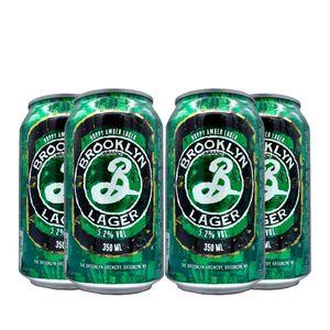 Pack-4-cervejas-americanas-Brooklyn-Lager-Lata-350