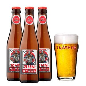 Pack-3-Trooper-Sun-and-Steel-Sake-Lager-330ml--Cop